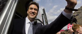 Labour med forsprang i Storbritannia