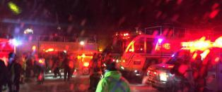 25 til sykehus etter krasjlanding p� m�rklagt flyplass