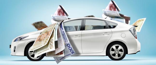 Vi betaler mindre bilavgift enn f�r