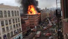 Omkommet person funnet i ruiner i New York