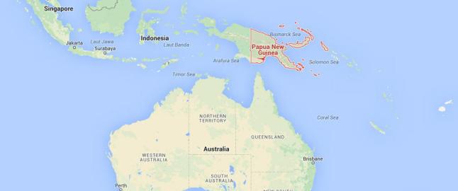 Tsunamivarsel etter jordskjelv n�r Papua Ny-Guinea
