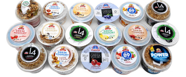 Stor test av gresk yoghurt: Taperne har mye sukker