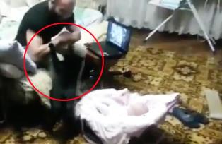 N�r pappaen sl�r p� babystolen kommer katten til unnsetning