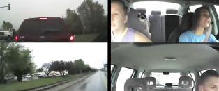 S� lite skal til for at unge bilf�rere ender i ulykker