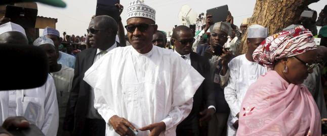 - Nigerias president har gratulert Buhari med seier