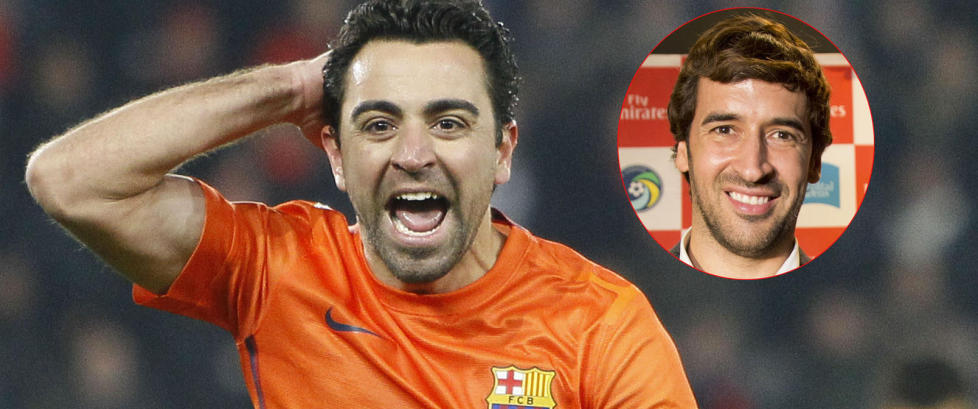 Ra�l advarer sin gamle rival Xavi f�r overgangen til Qatar