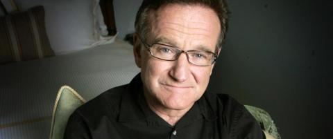 Robin Williams' siste triks: Ga bort retten til eget ansikt
