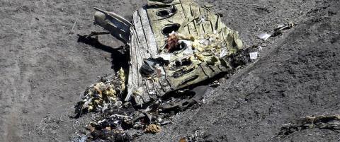 Har funnet en mobiltelefon blant vrakrestene med Germanwings-flyets siste sekunder