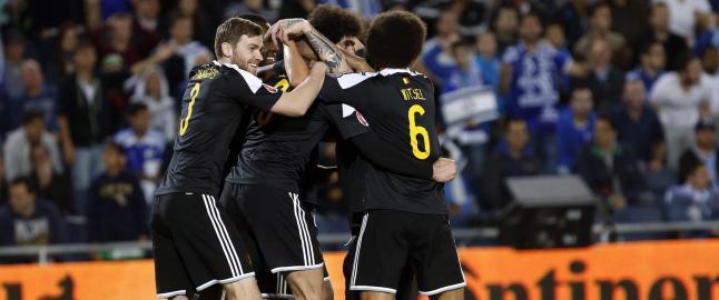 Fellaini avgjorde for Belgia