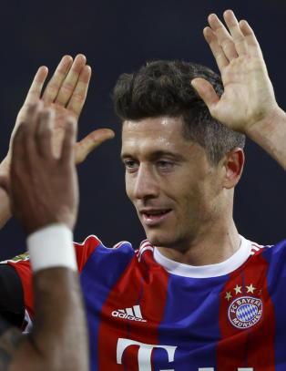 Bayern M�nchen stoppet Dortmund