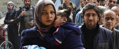 18.000 mennesker fortsatt fanget i Yarmouk