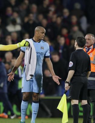City-stjernene gikk p� ei blemme mot Crystal Palace: - Vi tapte p� grunn av et offsidem�l