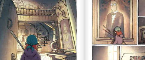 Anmeldelse: �Amuletten� er en fantasy-tegneserie du raskt blir hekta p�