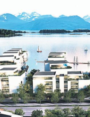 Vil bygge for to milliarder i Moldes vannkant