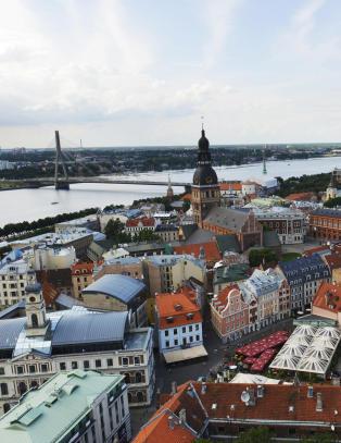 Satte fyr p� Riga da de trodde Napoleon kom. Viste seg � v�re en flokk kyr