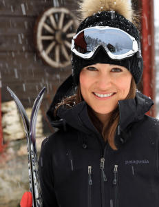 Pippa Middleton p� skitur i Norge