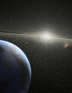 - Asteroide p� vei mot jorda i 2017