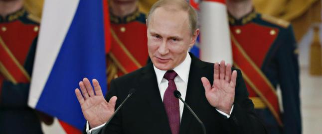Putin angrer ikke p� Krim-annektering
