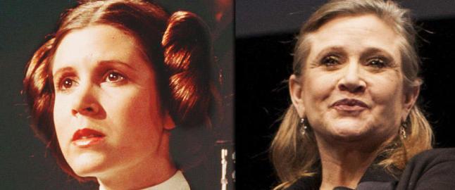 Prinsesse Leia dropper kanelbollene i Star Wars
