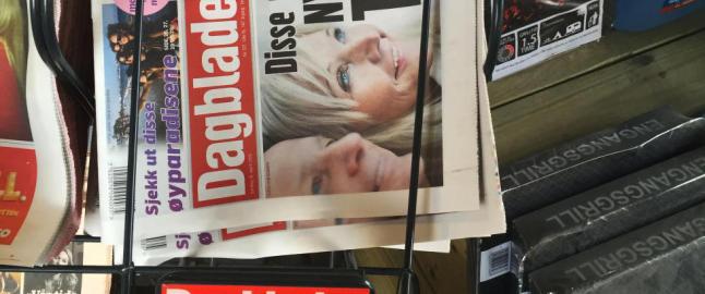 Derfor ser Dagbladets papirutgave litt annerledes ut i dag