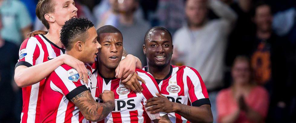 PSV vant den nederlandske serien for f�rste gang p� sju �r