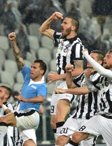Ville jubelscener da Juventus vant toppkampen mot Lazio