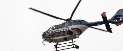Politiet f�r bruke private helikoptre ved utrykning