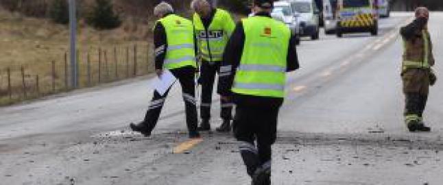 Mann omkom i bilulykke i Steinkjer