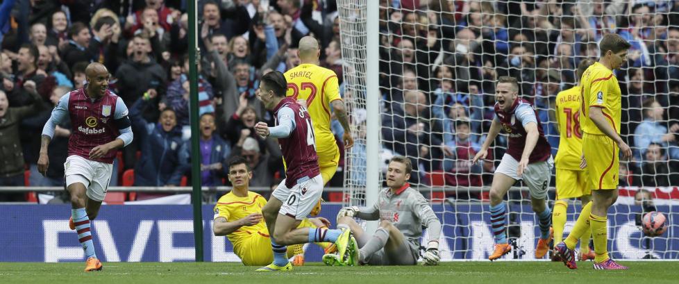 Delph den store helten da Villa sikret finale og sendte Liverpool ut av FA-cupen