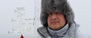 - Markering i kampen om Nordpolen