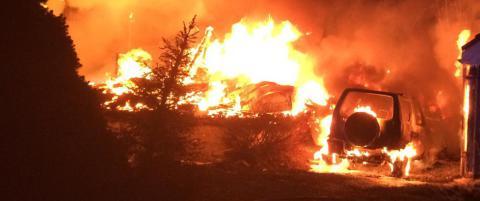 To hus brant ned p� Romerike