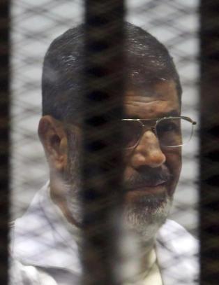 Egypts tidligere president d�mt til 20 �rs fengsel