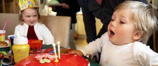 Barnebursdag for under to hundrelappen