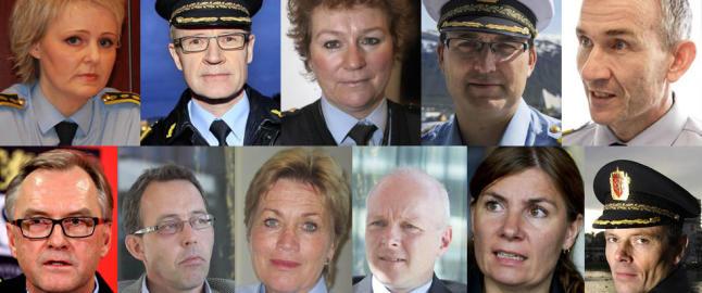 Her er Norges 12 nye politimestere