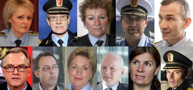 Dette er Norges nye politimestere