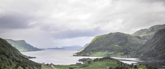 Venstre tok opp F�rdefjorden i budsjettforhandlingene i fjor, fikk nei fra H�yre og Frp