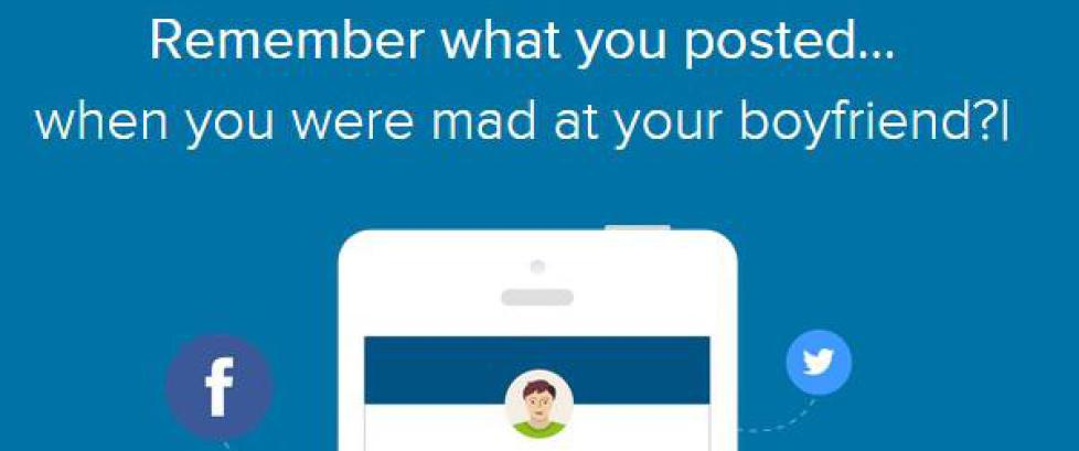 Denne appen skal redde deg fra dine pinligste �yeblikk i sosiale medier