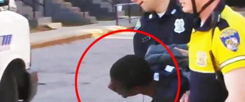 Freddie (27) d�de etter denne arrestasjonen