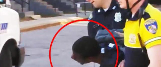 Freddie (25) d�de etter denne arrestasjonen