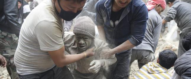 UD vet ikke hvor mange nordmenn som er i jordskjelvrammede Katmandu