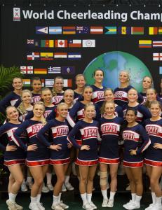 Norsk VM-s�lv i cheerleading