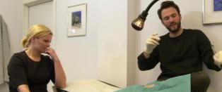 Her skal K�re Magnus Bergh �operere seg selv�