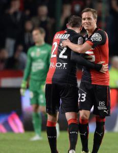 Konradsen matchvinner for Rennes i sluttminuttene