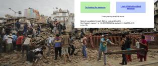 Googles hjertevarme verkt�y skal hjelpe folk � finne sine kj�re i Nepal