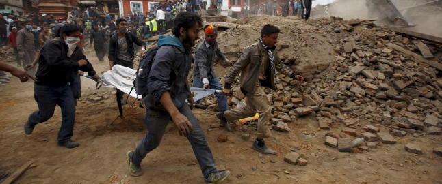 Jordskjelv-eksperter m�ttes i Nepal i forrige uke for � planlegge bedre sikring