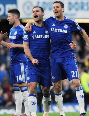Seks Chelsea-spillere p� �rets lag i Premier League