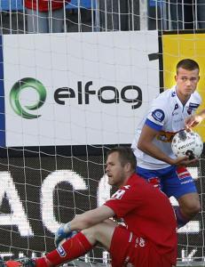 Sandefjord-spiller om Zlatan-kopi: - Ikke for vane � score slike m�l