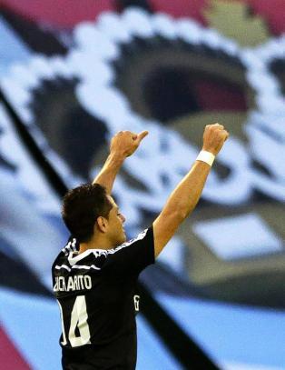 Real Madrid med full kontroll tross d�rlig start. Gullh�pet lever