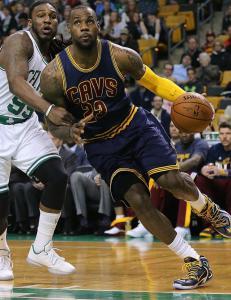 LeBron James sendte Cavaliers videre i NBA-sluttspillet