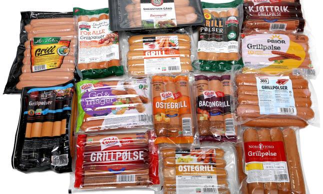 Stor grillp�lsetest: Dobbelt s� mye fett i taperne